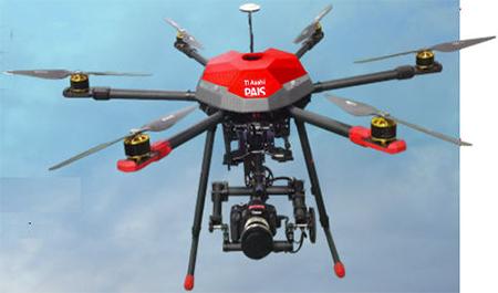 Drone Multicoptère